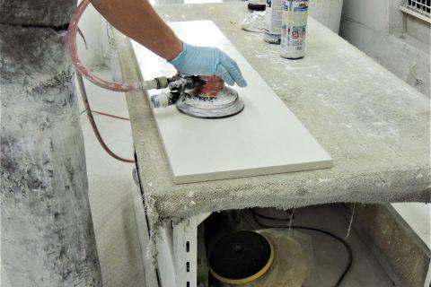 Polishing for high gloss finish