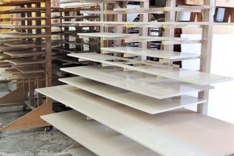 Racks of Kitchen Panels